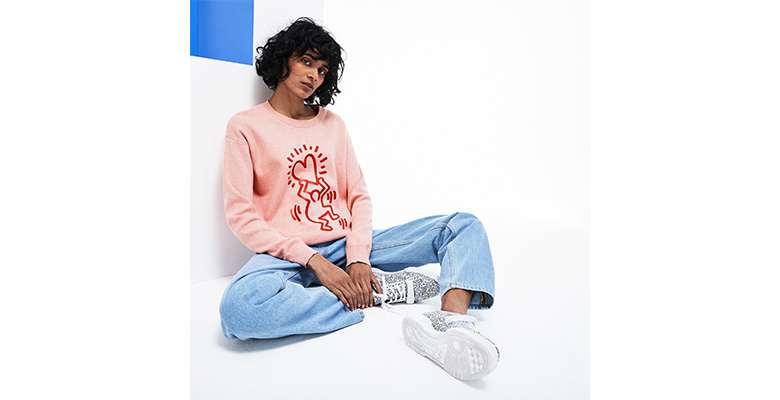 Lacoste rend hommage à Keith Haring