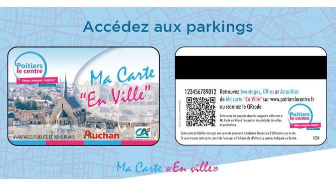 Accédez aux parkings avec Ma Carte