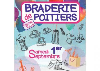 Venez profiter de la grande Braderie de Poitiers !