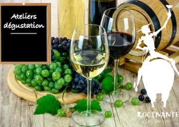 Retour des ateliers dégustation de votre cave à vin Rocinante!