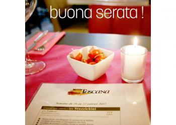 Le restaurant italien Toscana rejoint le programme de la Carte en Ville
