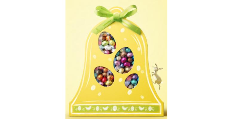 Participez au tirage au sort pour remporter une cloche géante remplie d'oeufs !