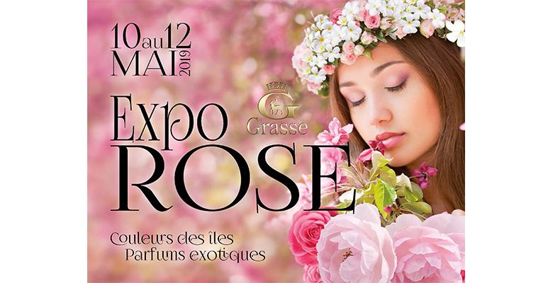 Venez nombreux à l'ExpoRose haute en couleur les 10, 11 et 12 mai prochains !