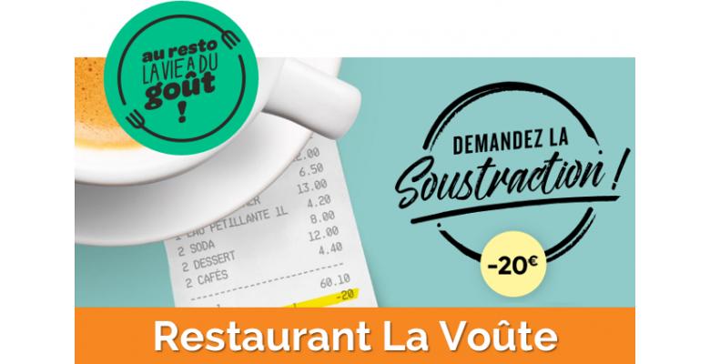 20€ offerts sur votre prochaine addition par tirage au sort chaque semaine !