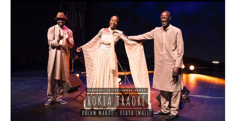 Vendredi 28 septembre : Rokia Traoré en concert