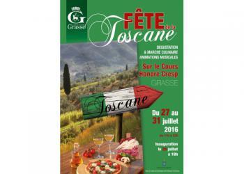 Fête de la Toscane du 27 au 31 Juillet