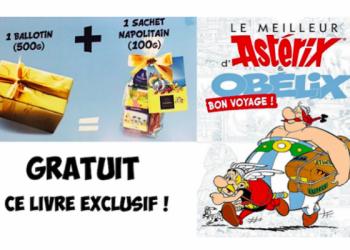 Recevez une BD Asterix en exclusivité et édition limitée !