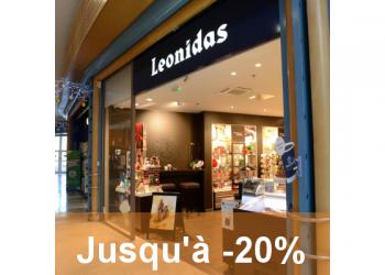Leonidas Auchan Grasse : les soldes gourmandes !