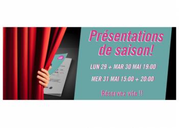 Théâtre de Grasse : présentations de saison 17/18