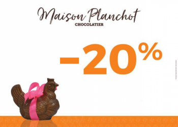 20% de remise sur les chocolats de Pâques